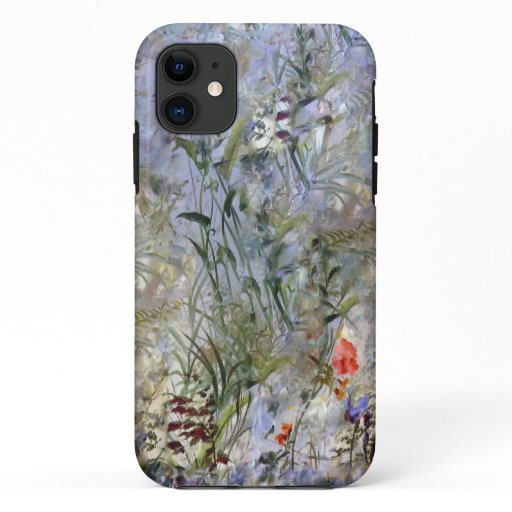 Field of Lilies in lavender iPhone 11 Case