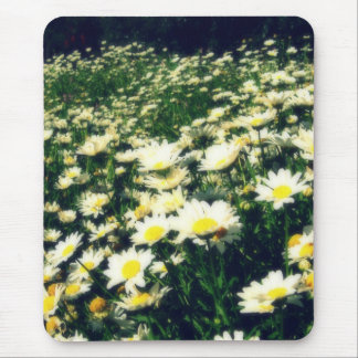Field of little flowers mouse pad