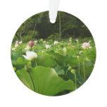 Field of Lotus Flowers Ornament