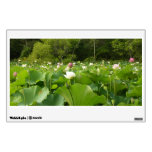Field of Lotus Flowers Wall Decal
