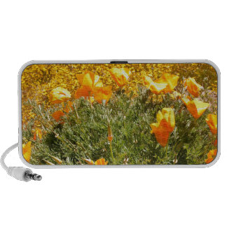 Field of Poppies and Wild Mustard Mp3 Speaker