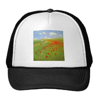 Field of Poppies by Pal Szinyei Merse Trucker Hat