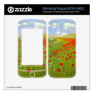 Field of Poppies by Pal Szinyei Merse Samsung Rogue Decals