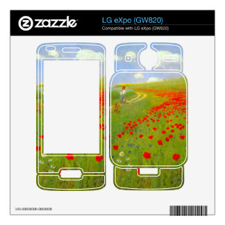 Field of Poppies by Pal Szinyei Merse Skins For The LG eXpo