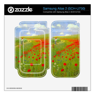 Field of Poppies by Pal Szinyei Merse Skin For Samsung Alias 2