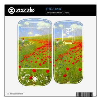 Field of Poppies by Pal Szinyei Merse Skins For HTC Hero
