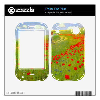 Field of Poppies by Pal Szinyei Merse Palm Pre Plus Skin