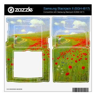 Field of Poppies by Pal Szinyei Merse Samsung Blackjack II Skin