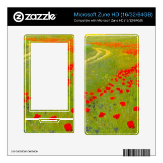 Field of Poppies by Pal Szinyei Merse Zune HD Skins