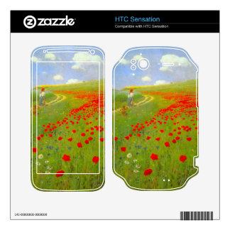 Field of Poppies by Pal Szinyei Merse HTC Sensation Skins