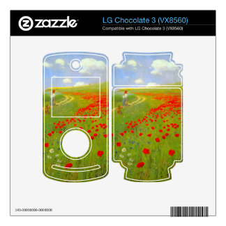 Field of Poppies by Pal Szinyei Merse Decals For LG Chocolate 3