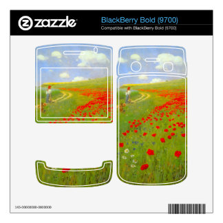 Field of Poppies by Pal Szinyei Merse Decal For BlackBerry