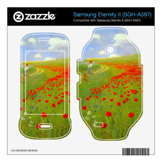 Field of Poppies by Pal Szinyei Merse Samsung Eternity II Decal