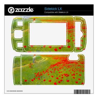 Field of Poppies by Pal Szinyei Merse Skin For Sidekick LX