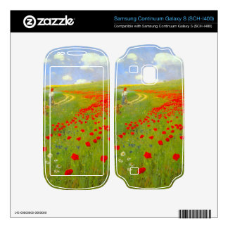 Field of Poppies by Pal Szinyei Merse Samsung Continuum Decals