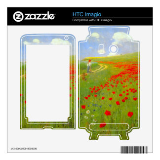 Field of Poppies by Pal Szinyei Merse Decal For The HTC Imagio