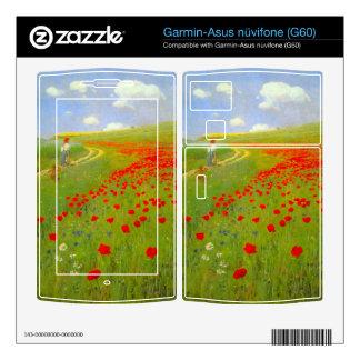 Field of Poppies by Pal Szinyei Merse Garmin Asus Nuvifone Skin