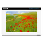 Field of Poppies by Pal Szinyei Merse Samsung Chromebook Decals