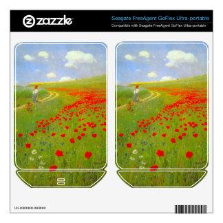 Field of Poppies by Pal Szinyei Merse FreeAgent GoFlex Skin
