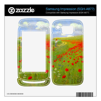 Field of Poppies by Pal Szinyei Merse Samsung Impression Decal