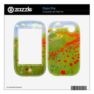 Field of Poppies by Pal Szinyei Merse Skins For The Palm Pre