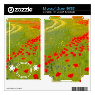 Field of Poppies by Pal Szinyei Merse Decal For The Zune