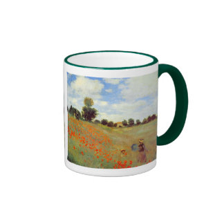 Field of Poppies, Claude Monet Coffee Mugs