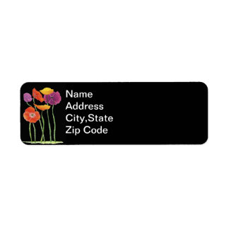 Field of Poppies Labels