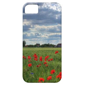 Field of poppy flowers iPhone SE/5/5s case