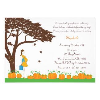 Field of Pumpkins Baby Shower Invitations
