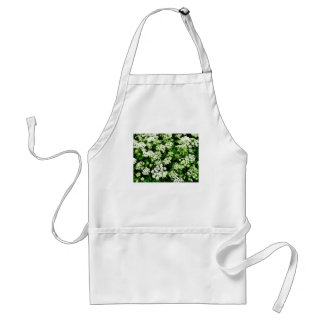 Field of Queen Anne's Lace Adult Apron