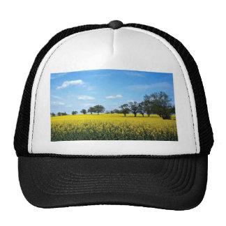 Field of rape, Surrey, England Trucker Hat