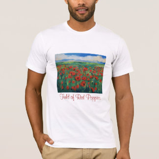 Field of Red Poppies T-Shirt