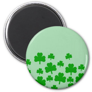 Field of Shamrocks for St. Patrick's Day Refrigerator Magnet