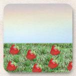 Field of Strawberries Coasters