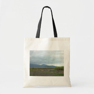 Field Of Sugar Canes Canvas Bags