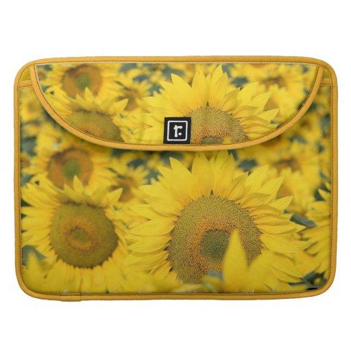 """Field of Sunflowers 15"""" Macbook Sleeve Sleeves For MacBooks"""