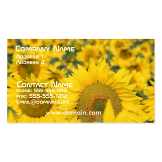 Field of Sunflowers Business Card