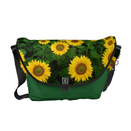 Field of Sunflowers Courier Bag