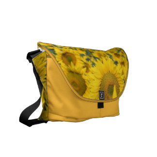 Field of Sunflowers Messenger Bag
