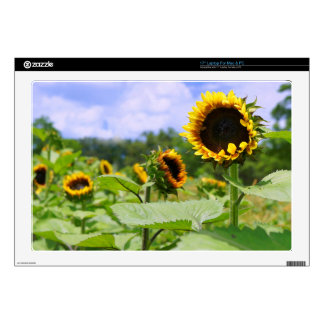 """Field of Sunflowers Skin For 17"""" Laptop"""