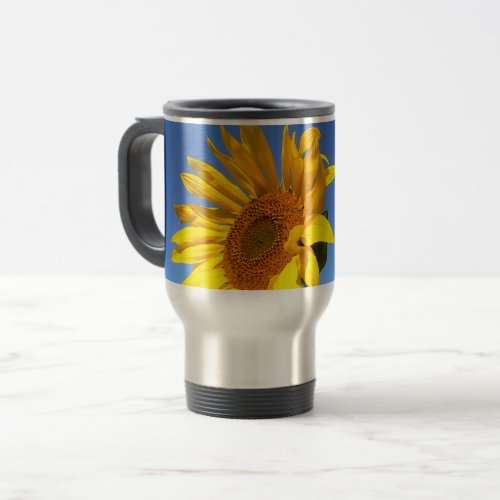 Field Of Sunflowers, Sunflower 1.3 Travel Mug