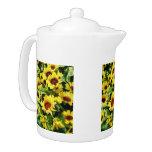 Field of Sunflowers Teapot