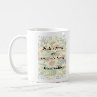 Field of Sunflowers Wedding Products Coffee Mug