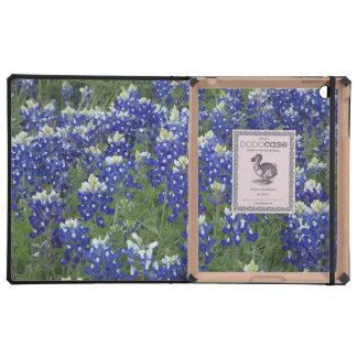 Field of Texas Bluebonnets iPad Folio Case