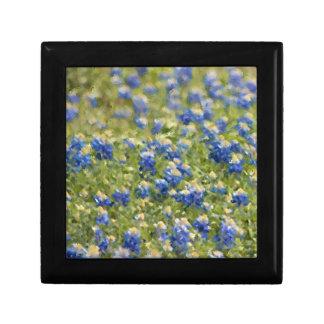 Field of Texas Bluebonnets Painting Keepsake Box