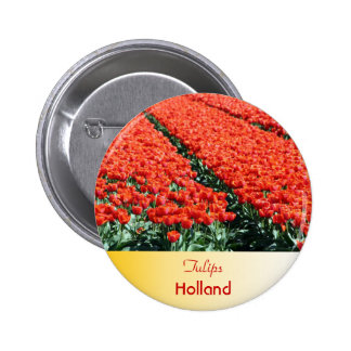 Field of tulips button