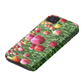 Field of Tulips iPhone 4 Covers