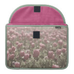 Field of Tulips Case Sleeve For MacBooks