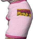 Field of Tulips Dog Shirt